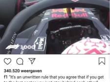 Hamilton reageert kort maar krachtig op kritiek Verstappen