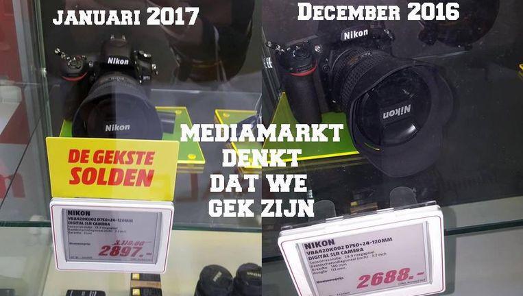 """Deze foto werd op sociale media vaak gedeeld. """"Een uitzonderlijk geval"""", reageert Mediamarkt."""