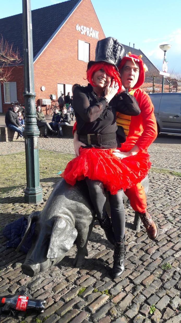 Carnaval in De Mortel.