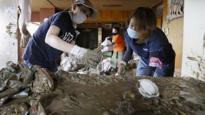 Dodentol overstromingen Japan gestegen naar 68