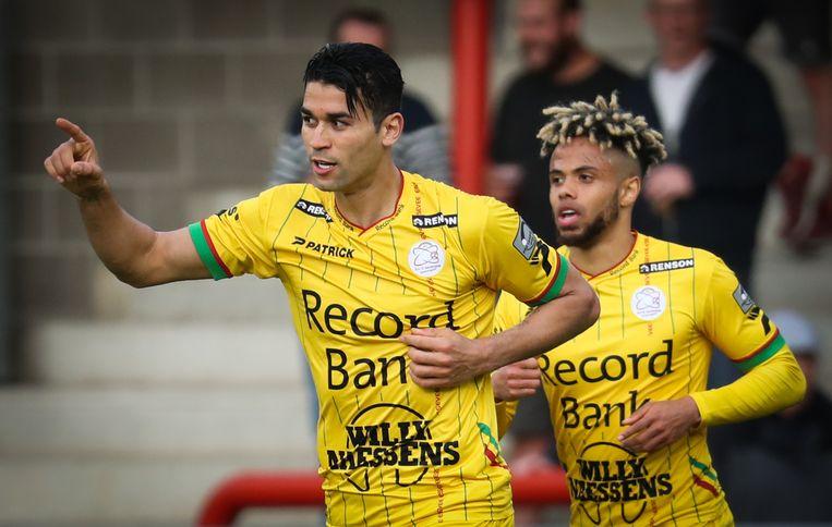 Hamdi Harbaoui kopte zijn negentiende van het seizoen tegen de netten.