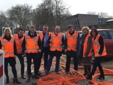 Burgemeester en wethouders kijken ogen uit in Zwolle tijdens 'tweedaagse'