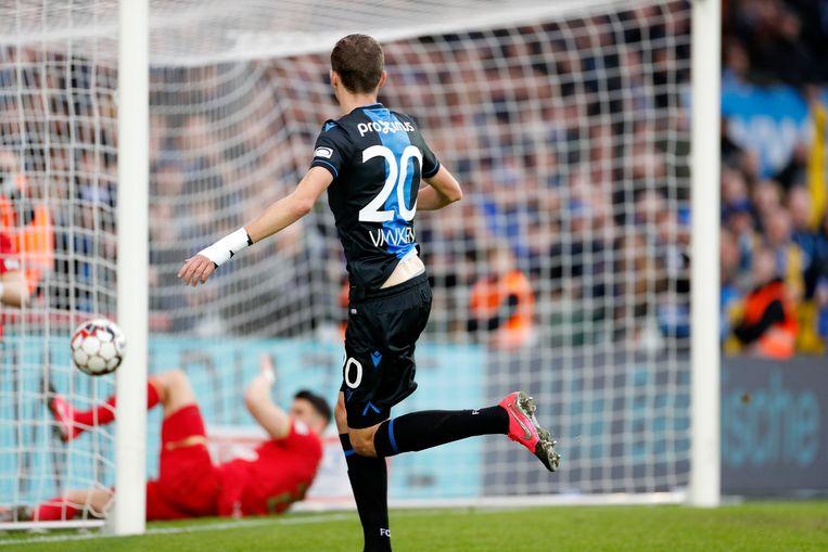 Er kwam de vraag naar doellijntechnologie na de goal van Vanaken tegen Antwerp.