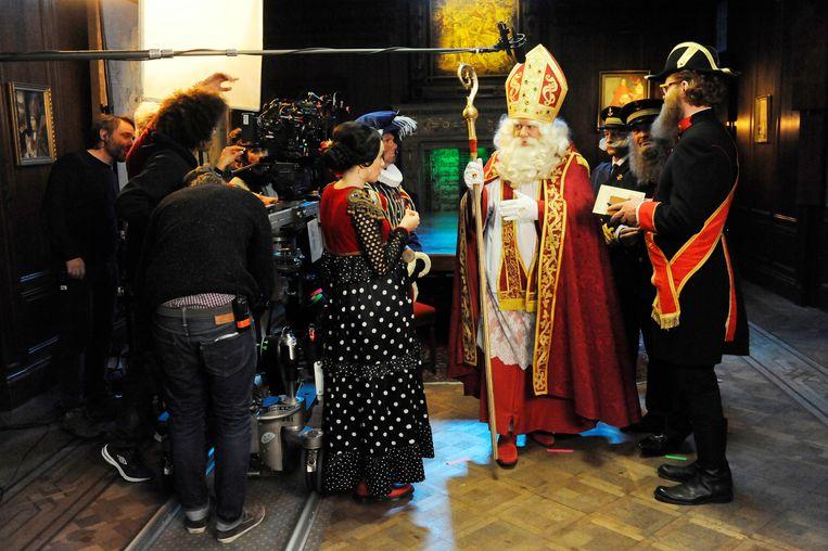 'Dag Sinterklaas' draaide 36 dagen in Antwerpen voor een nieuwe reeks?
