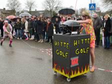 Storm Dennis torpedeert carnavalsoptochten Herwen, Westervoort en Kilder; in Zeddam alleen loopgroepen