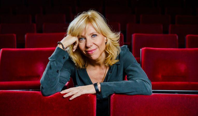 Claudia de Breij, cabaretière, zangeres en radio-dj, over 5 mei. Beeld ANP