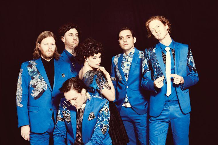 Arcade Fire. Beeld