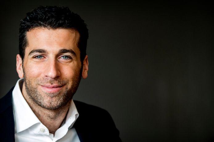 Presentator en theatermaker Marc de Hond.