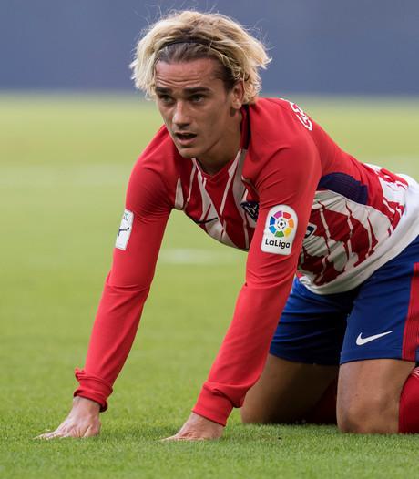 Atlético-ster Griezmann twee duels geschorst na beledigen arbiter