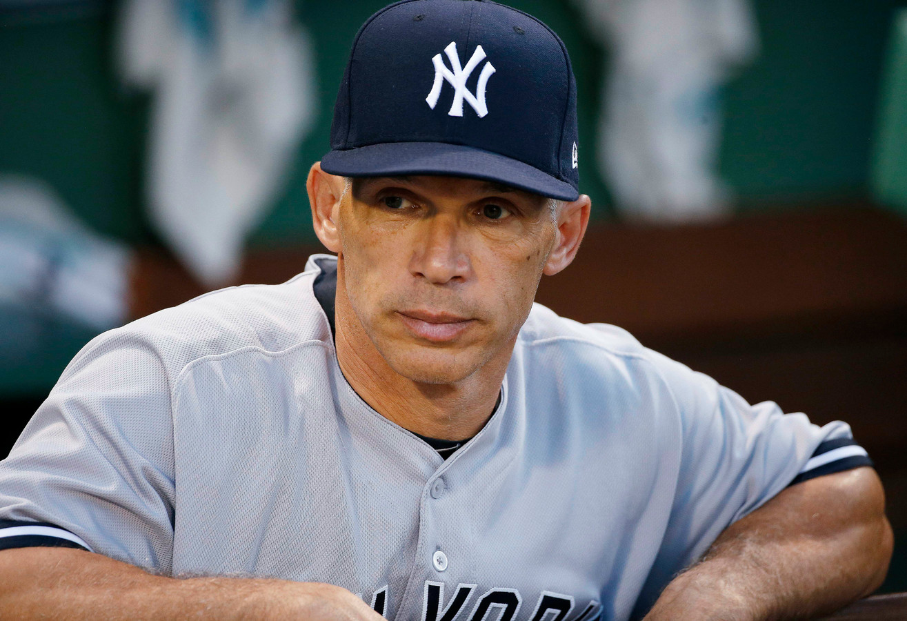 Manager Joe Girardi van New York Yankees.