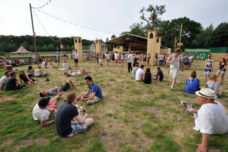 Voortaan zullen festivalgangers onder meer in herbruikte tenten kunnen slapen op Paradise City.