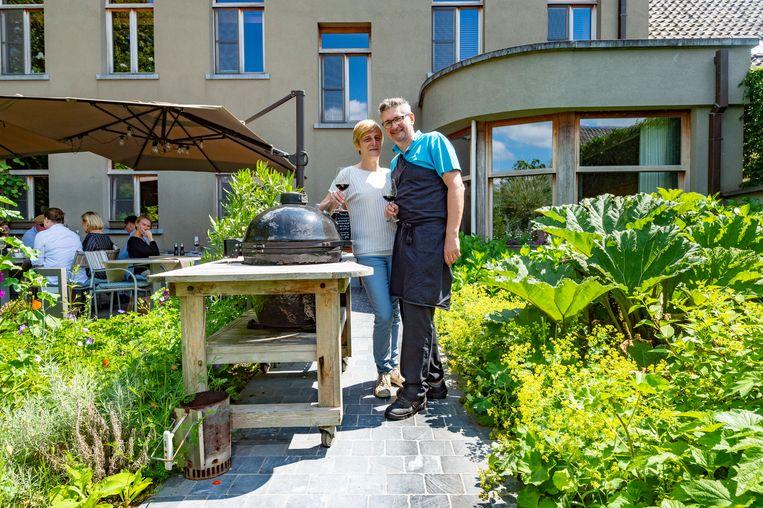 Martine en Jan van restaurant plein25 in Wortegem-Petegem.