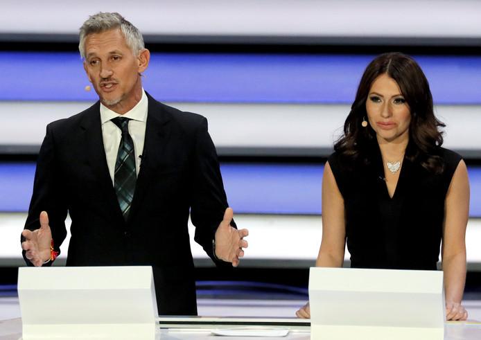 Gary Lineker en Maria Komandnaja.