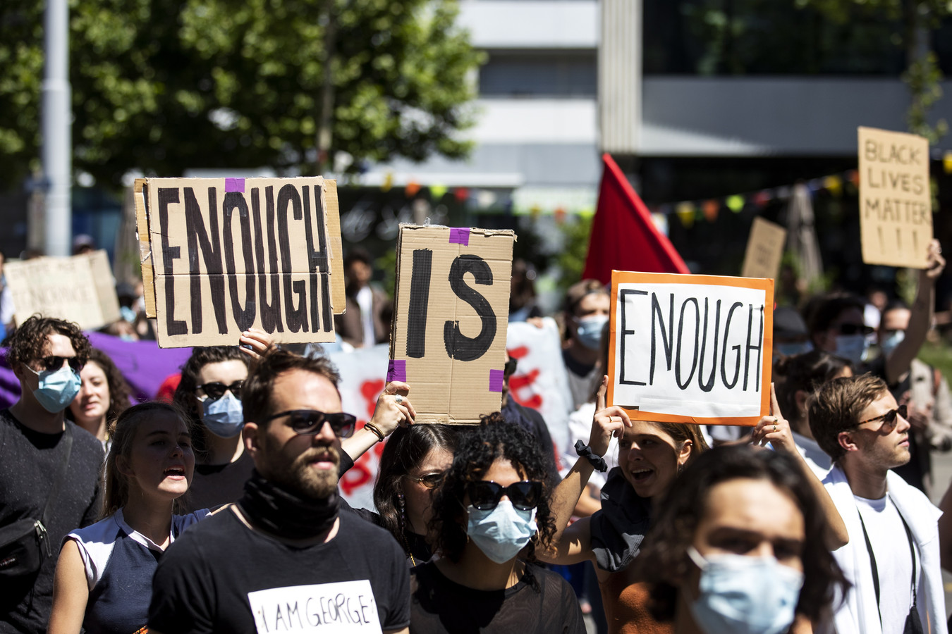 Protest in Zurich.