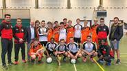 Jongeren leven zich uit tijdens Buurtsport Cup