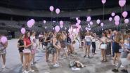 Fans Ariana Grande komen samen in Sportpaleis