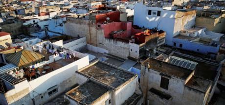 Politie zet waterkanon in tegen leraren in Rabat