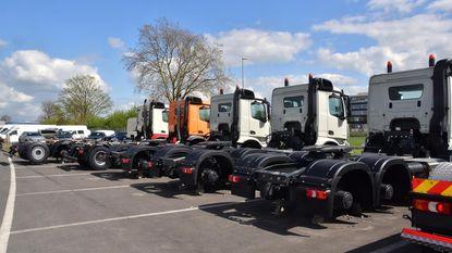 56 vrachtwagenwielen gestolen
