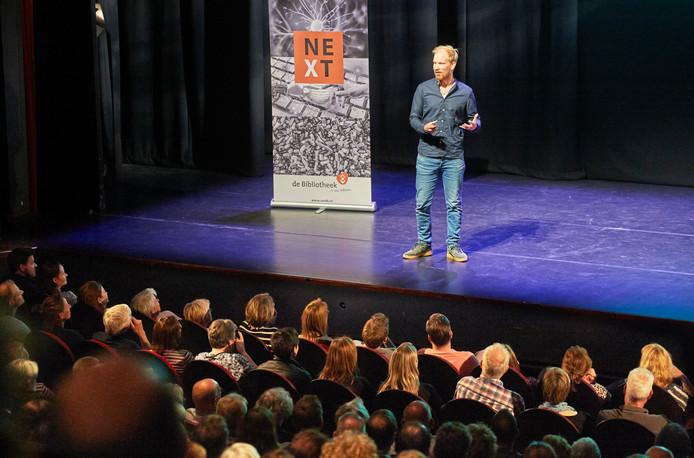 Schrijver Rutger Bregman in De Lievekamp te Oss.