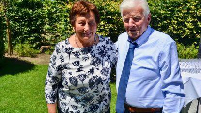 Jeanne en Louis zestig jaar getrouwd