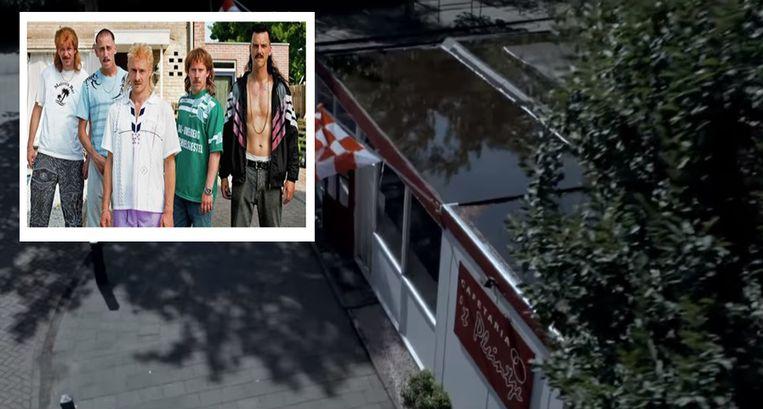 Snackbar 't Pleintje, de favoriete hangplek van de 'New Kids'.