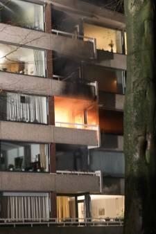 100-jarige flatbewoonster overlijdt bij brand