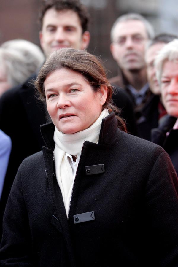 Charlene de Carvalho-Heineken, dochter van Freddy Heineken