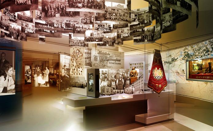 Een impressie van hoe het nieuwe schoenenmuseum in Waalwijk zou kunnen worden.