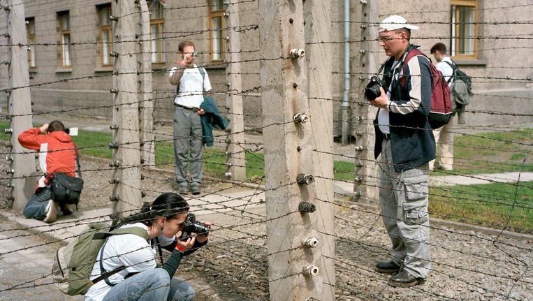 Vernietigingskamp Auschwitz-Birkenau trekt jaarlijks 1,5 miljoen bezoekers Beeld Roger Cremers