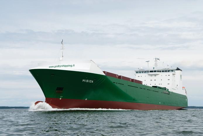 Vrachtschip Misida