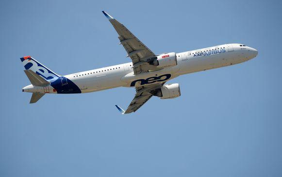 Een Airbus A321 Neo.