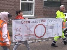 Haagse straat gaat op slot voor halen en brengen scholieren