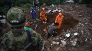 Zeker zeventien doden bij aardverschuiving in Colombia