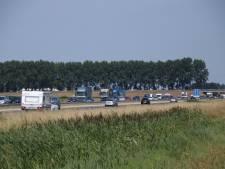 File door ongeluk op de A58 bij Kruiningen