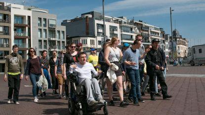 Studenten tekenen toegankelijke stadswandelingen uit