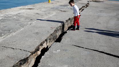 Flinke naschokken na zeebeving schrikken Griekenland op