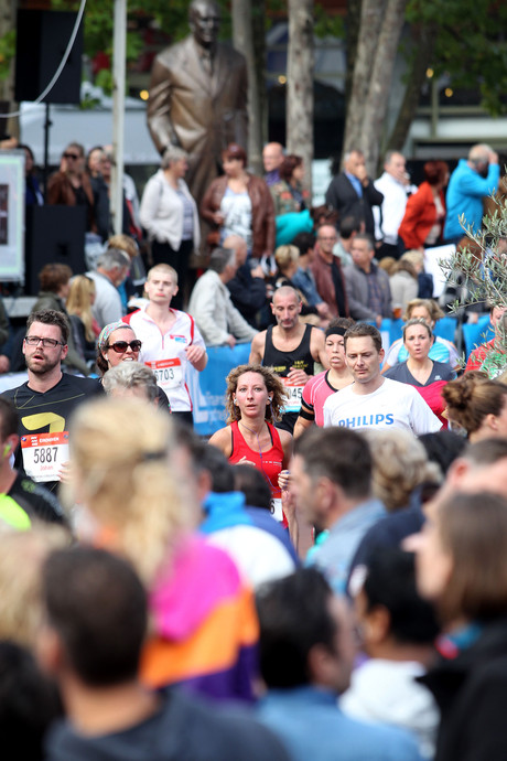 Deelnemers marathon Eindhoven kunnen voorlopig fluiten naar medaille