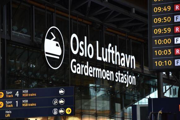 De Belg werd betrapt in de luchthaven van Oslo.