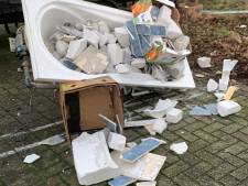 Van asbest tot truckerspoep: parkeerplaats voor vrachtwagens steeds vaker gebruikt als vuilnisbelt