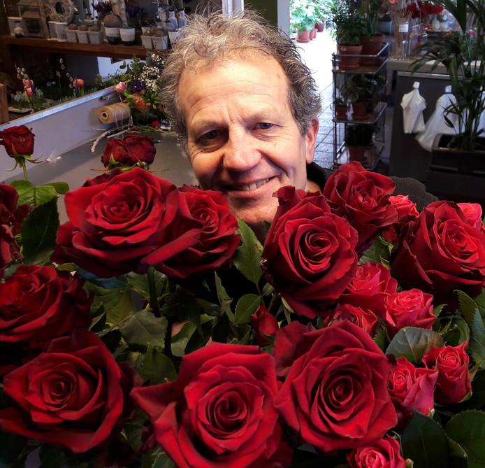 Bloemist Ruud van Schie: ,,Valentijnsdag is een rozendag.''