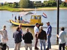 Voetveren gaan weer heen en weer over Rijn en Waal