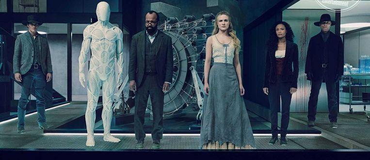 De cast van Westworld seizoen 2 Beeld RV