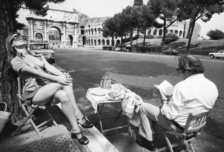 Calligarich schetst een beeld van het enigszins decadente, afstandelijke Rome uit de jaren zeventig. Beeld Bettmann Archive