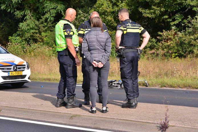 Fietser ernstig gewond bij ongeval in Ulvenhout