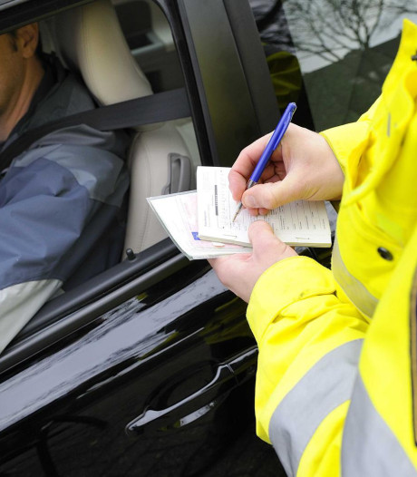 Kans op verkeersboete vandaag volgens politie 'groter dan gemiddeld'