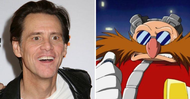 Jim Carrey en Dr. Ivo Robotnik, ook bekend onder zijn alias Doctor Eggman, is een personage uit de Sonic the Hedgehog-franchise.