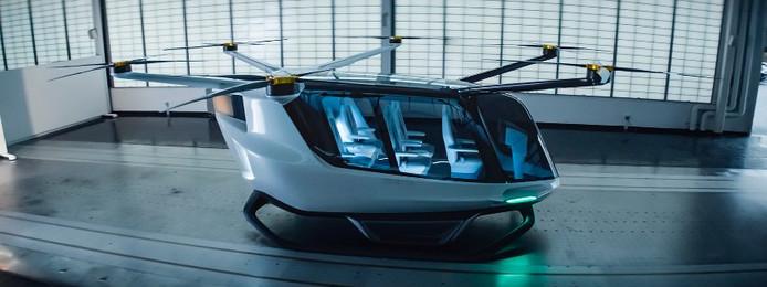 Vliegende taxi van BMW.