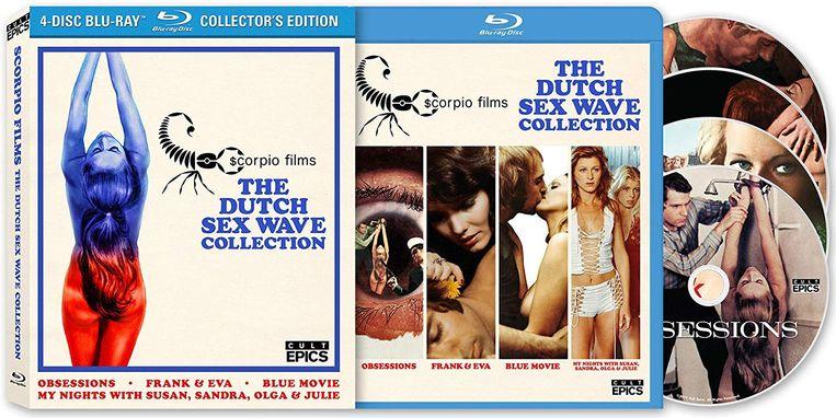 De verzamelbox met vier films van Verstappen en De La Parra. Beeld