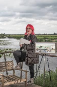 Dromen van Pia Sprong (60) komen samen met wonen en werken in natuur