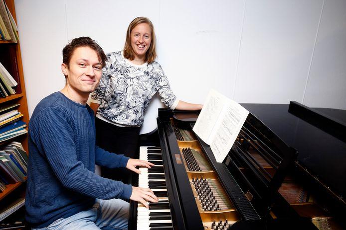 Mark Walter en Lisanne Boersma.